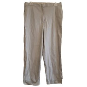 Jones New York | sport | khaki cuffed short slacks